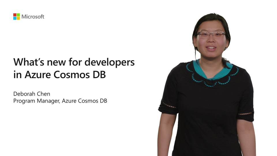 What's new for developers in Azure Cosmos DB