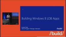 Building Windows 8 LOB Apps (Repeat)