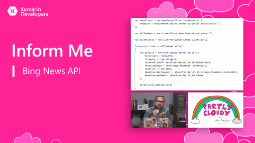 Inform Me (Bing News API)