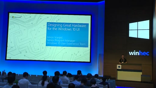 Designing Great Hardware for the Windows 10 UI