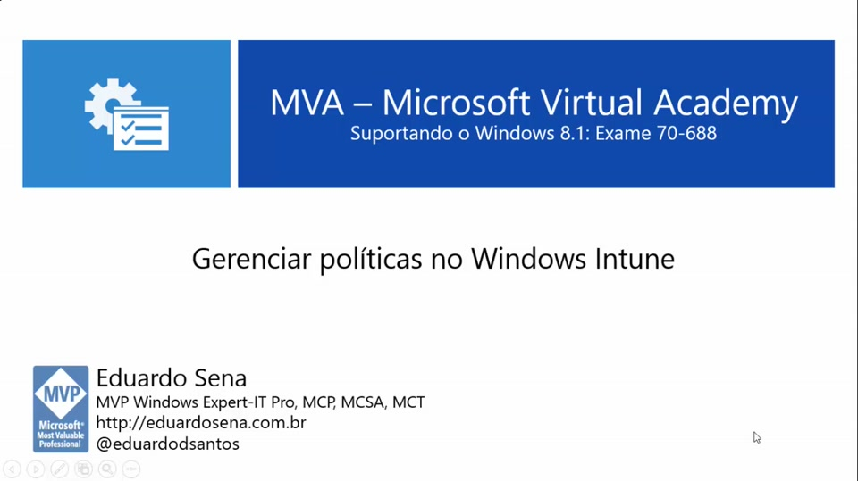 Gerenciar políticas no Windows Intune