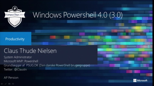 Windows PowerShell 4.0