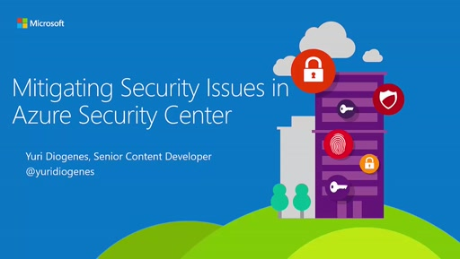 Mitigating Security Issues using Azure Security Center