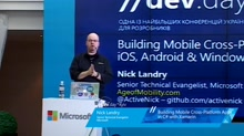 BUILDING MOBILE CROSS-PLATFORM APPS IN C# WITH XAMARIN