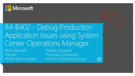 Debug Production Application Issues using System Center Operations Manager