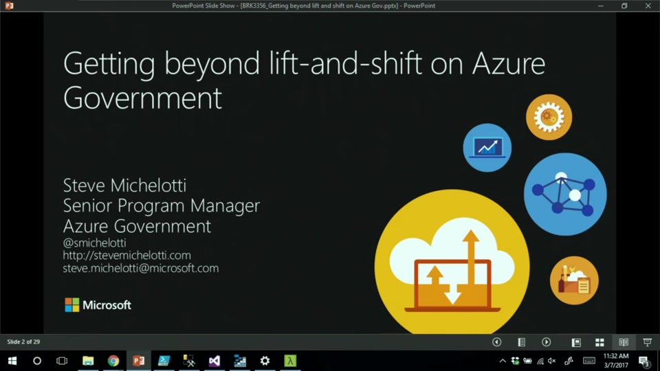 Getting Beyond Lift-and-Shift on Azure Government