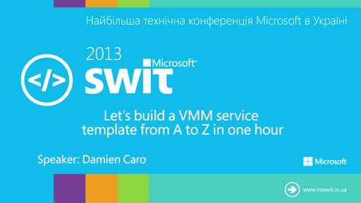 Let's build a VMM service template from A to Z in one hour
