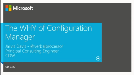 The WHY of Configuration Manager: Methods of Deployment