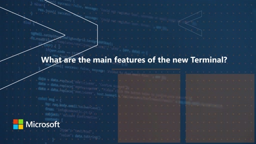 What are the main features of the new Terminal | One Dev Question