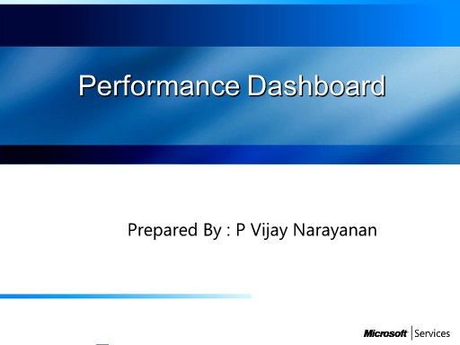 What's Performance Dashboard and how it can help in troublehsooting SQL issues.