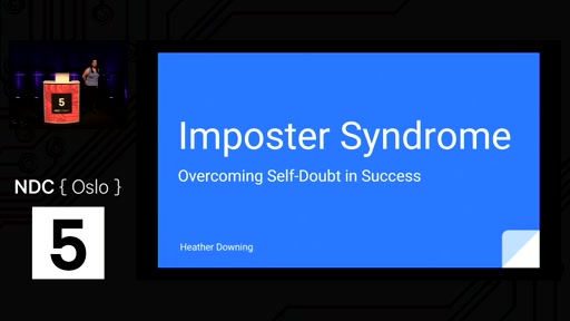 Talk: Imposter Syndrome: Overcoming Self-Doubt in Success