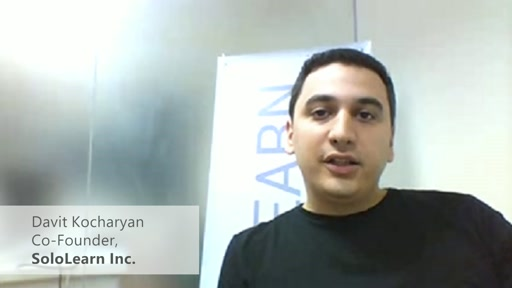 MIC Armenia Start-Up Profile: Sololearn.com