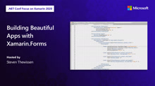 Building Beautiful Apps with Xamarin.Forms