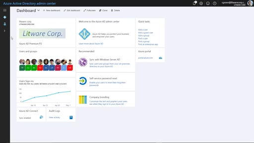 Azure Active Directory Admin Experience in the Azure Portal