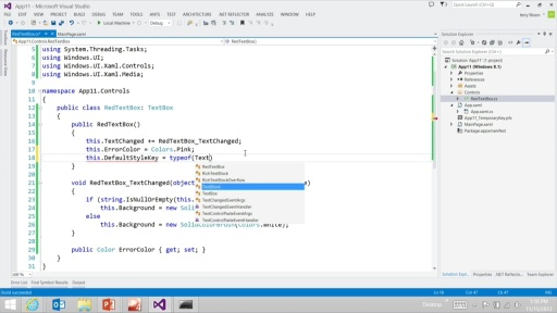 Advanced Windows Store App Development using C# Refresh: (04) Reusable Controls and Components