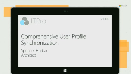 Comprehensive User Profile Synchronization