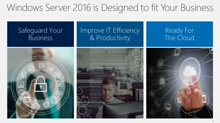 Windows Server 2016 Overview: Get the Goods on the New Server