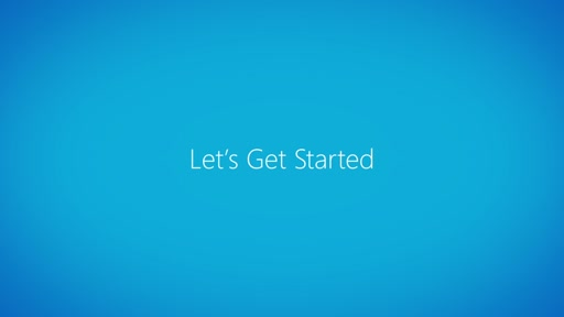 On Demand: Let's Get Started