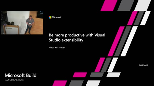 Be more productive with Visual Studio extensibility