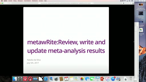 metawRite: Review, write and update meta-analysis results