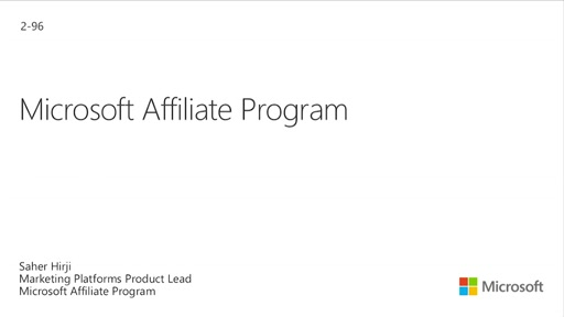 The Microsoft Affiliate Program
