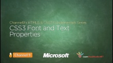 CSS3 Font and Text Properties - 13