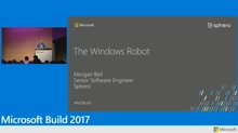 Creating robots with Windows 10 IoT Core