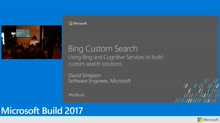 Use Bing and Microsoft Cognitive Services to create unique domain and site search