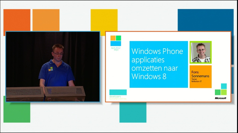 Windows Phone applicaties omzetten naar Windows 8