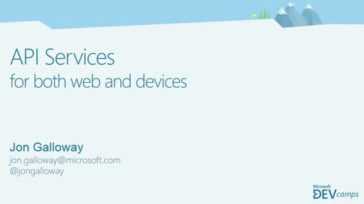 API Services for Both Web and Devices