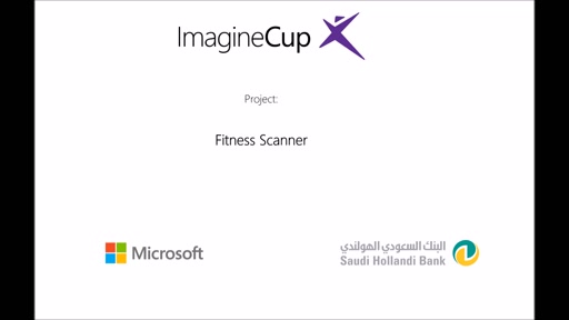 Imagine Weekend 2016 - Project: Fitness Scanner #جييك16