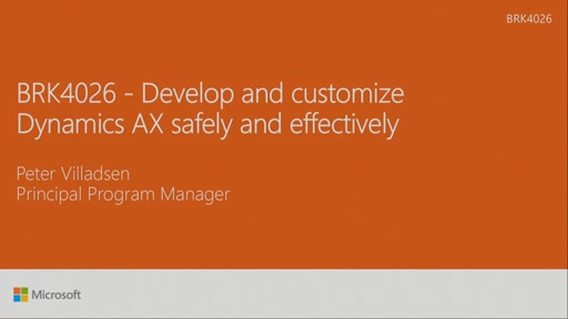 Develop and customize Dynamics AX safely and effectively