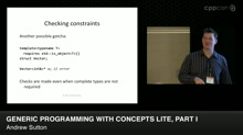 Generic Programming with Concepts Lite, Part I