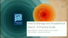 How to Manage and Troubleshoot Search : A Practical Guide