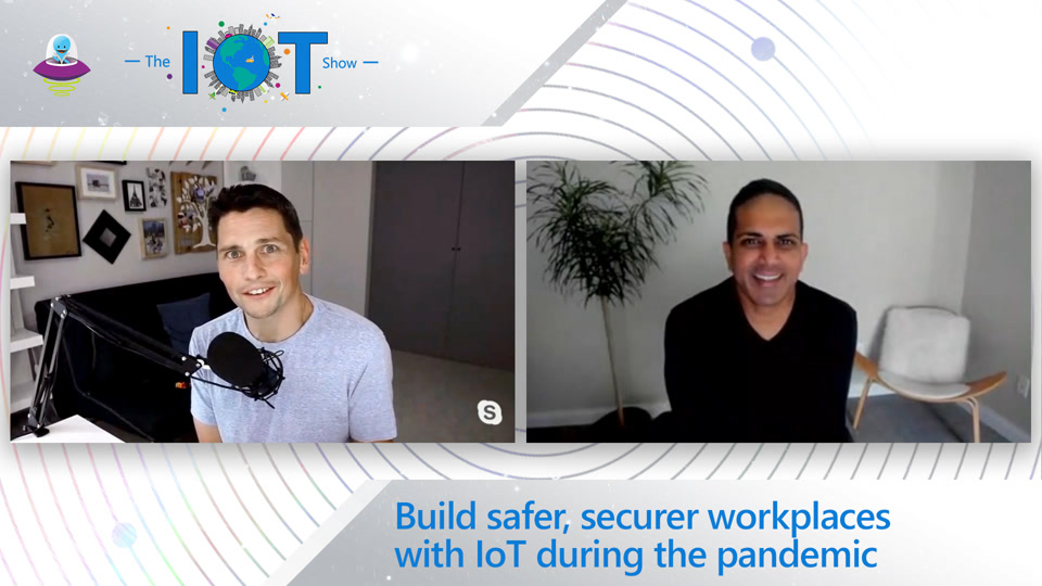 Build safer, securer workplaces with IoT during the pandemic