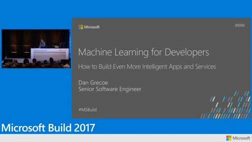 Machine Learning for developers, how to build even more intelligent apps and services