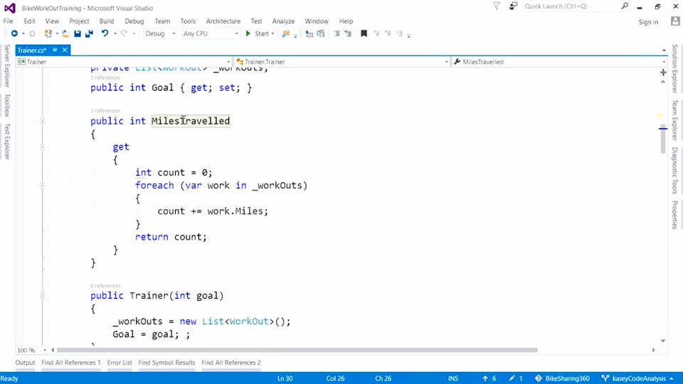 Visual Studio 2017:  NET Code Analysis Improvement