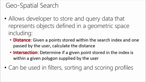 Adding Microsoft Azure Search to Your Websites and Apps: (06) Adding Geospatial Search to Your Search Application