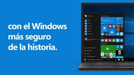 Ventaja N° 8 de Windows 10 - Seguridad, Defender, Actualizaciones y SmartScreen