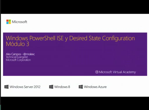 PowerShell ISE y Desired State Configuration 3ra Parte