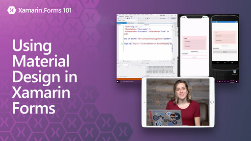 Xamarin.Forms 101: Using Material Design in Xamarin Forms