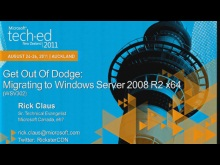 Get Out of Dodge: Migrating to Windows Server 2008 R2 x64