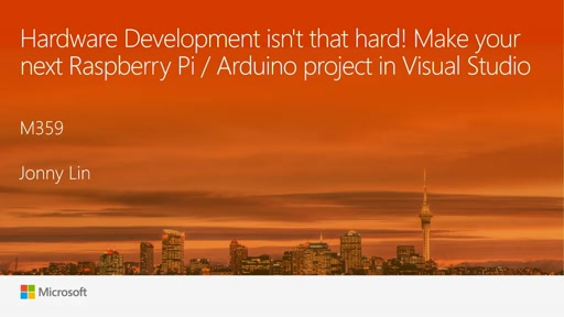 Hardware Development isn't that hard! Make your next Raspberry Pi / Arduino project in Visual Studio