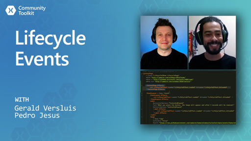 Lifecycle Events (Xamarin Community Toolkit)