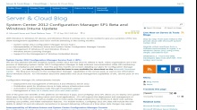 TechNet Radio: New Features in System Center 2012 Configuration Manager Service Pack 1