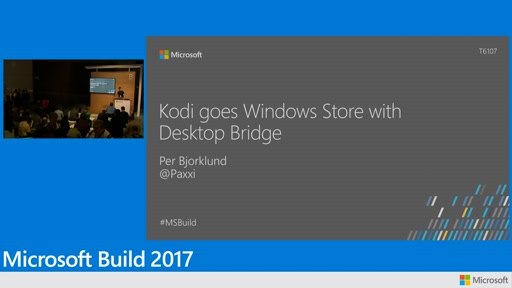 Kodi goes Windows Store with the Desktop Bridge