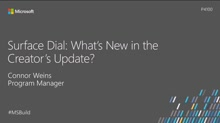 Surface Dial: What's new in the Creators Update?