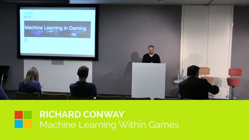 Machine Learning within Games