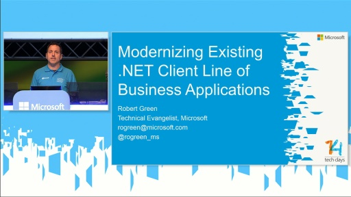 Modernizing Existing .NET Client Line of Business Applications