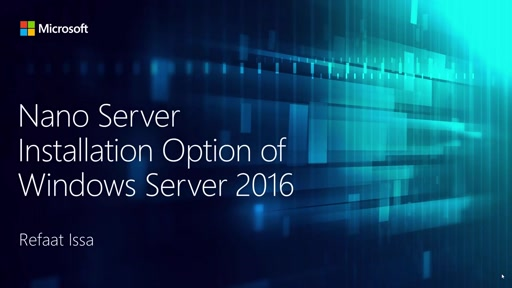 Nano Server installation option in Windows Server 2016